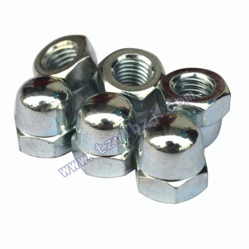 电镀锌盖形螺母