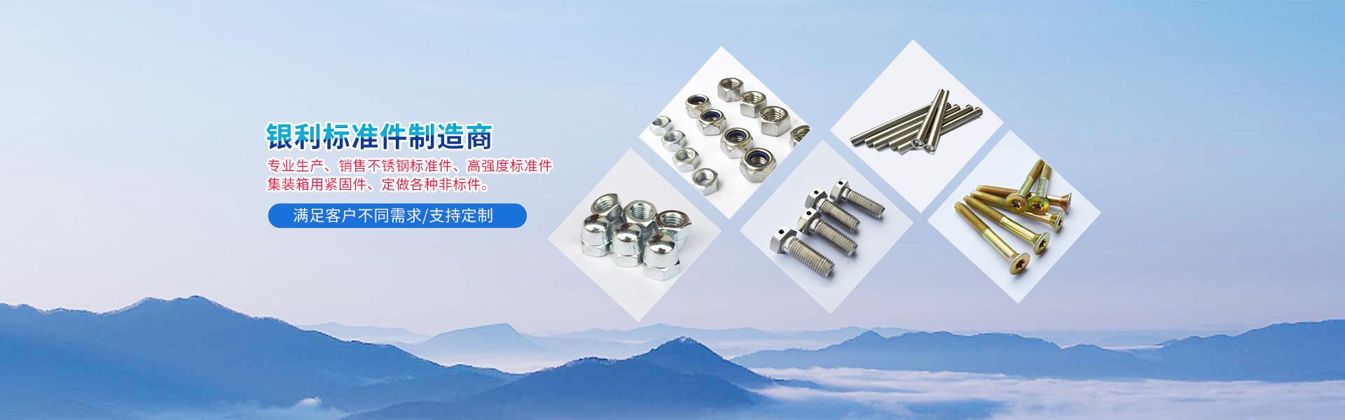 不锈钢高强度标准件